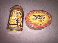 Limited time weathers Christmas tins!
