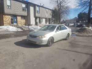 2002 Toyota Camry great on gas reliable car