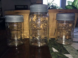Vintage crown jars