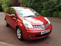 NISSAN NOTE ACENTA AUTO 2008 FULLY LOADED 1.6 LONG MOT VERY CLEAN CAR
