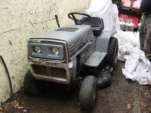 Tracteur à Gazon White prix réduit