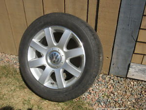VW  8 Spoke Alloy Wheels and 16 inch Michelin,s