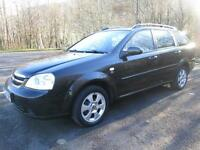09/09 CHEVROLET LACETTI 1.6 SX ESTATE WITH ONLY 27,000 MILES