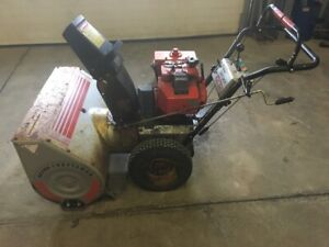 "Craftsman Snow Blower 10 HP 32"" wide"