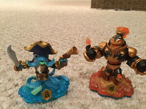Sky landers, portal, and 19 character