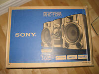 New Sony component sound system