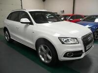 Audi Q5 2.0TDI ( 177ps ) quattro ( s/s ) Tronic 2013MY S Line Plus