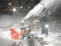 EXPERIENCED SNOW REMOVAL!