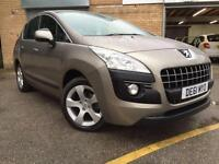 2011 61 PEUGEOT 3008 1.6 SPORT HDI 5D DIESEL ONLY 27K WITH SERVICE HISTORY DIESE