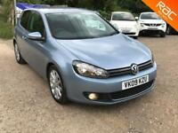 Volkswagen Golf 2.0TDI ( 140ps ) 2009 GT, 84000 MILES WITH FULL SERVICE HISTORY,