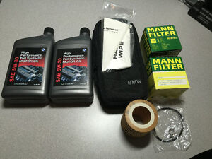 BMW E90 Service Parts. Oil Filters, Air Filters, Oil etc