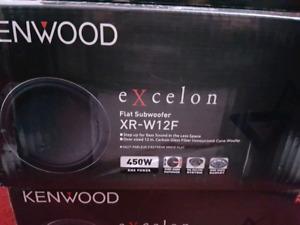 """Kenwood excelon 12 """" subwoofer flat"""