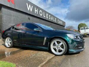2014 Holden Commodore VF MY14 SS Green 6 Speed Sports Automatic Sedan