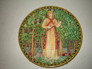 Collector Plates - Summer, Autumn, December and Spring