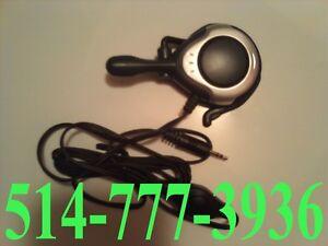 Casque d'écoute avec Micro Headset Écouteurs Walky Talky walkie