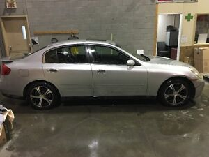 Infiniti G35 premium 6 speed manual