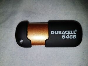 BRAND NEW DURACELL USB Flash Drive 64GB