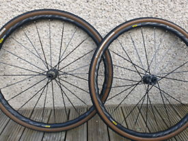 Ksyrium Elite Disc wheelset