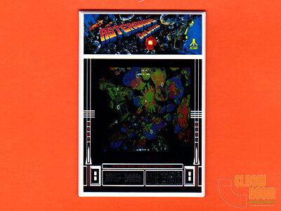 Asteroids Arcade Game Marquee Fridge Magnet