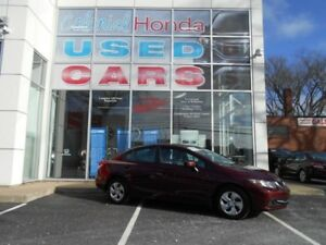 2014 Honda CIVIC LX AUTOMATIC HEATED BUCKET SEATS
