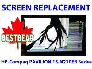 Screen Replacement for HP-Compaq PAVILION 15-N210EB Series Laptop