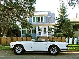 1972 Triumph TR-6.