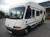 Deposit Taken Euramobil Integra 680FB 4 berth Rear fixed bed A- class Motorhome