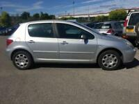 2004 PEUGEOT 307 1.4 ENVY 5 DR HATCHBACK BARGAIN PRICE MOT NOV