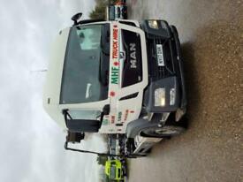 MAN 2017 TGX 26.470 6X4 Hookloader Truck Skip Lorry RORO Sleeper Cab