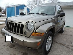 2007 Jeep Liberty Sport Trail Rated SUV, Crossover