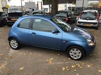 Ford Ka 1.3 Collection 53-reg low milage only 58,000 miles