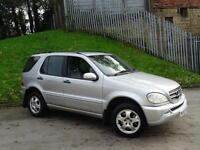2002 52 Mercedes-Benz ML270 2.7TD auto CDI