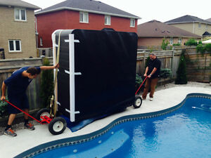 OSHAWA'S BEST LITTLE HOT TUB MOVERS! HANDS DOWN! 647 539 8827