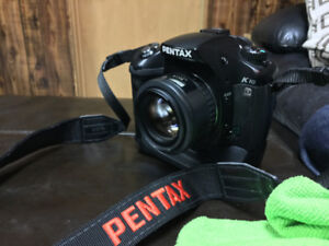 Pentax K10D with grip and SMC FA 50 1.4