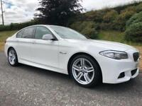 2013 BMW 520d M Sport Automatic Alpine White Low Mileage