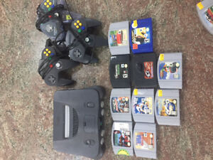 N64 Bundle 3 Controllers and 10 Games!