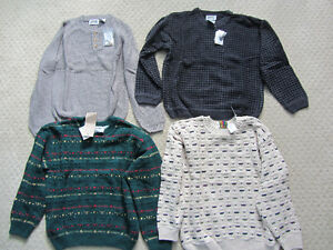 Brand New Long Sleeved Sweaters - Medium - 4 To Choose From