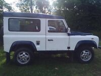 Land Rover defender 90 200 tdi station wagon