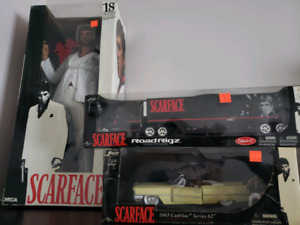 Scarface collectables 3 pieces.