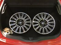 """16"""" 4x100 Rims - 205/45/16 (tyres not included)"""