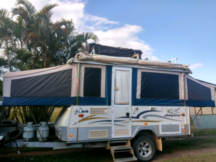 For sale jayco hawk out back Millaa Millaa Tablelands Preview