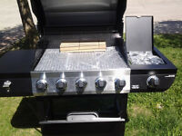 New Unused 5 Burner Stainless BBQ