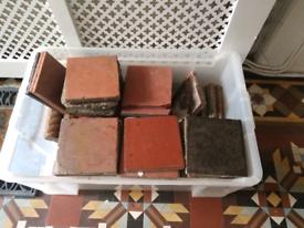 Reclaimed Victorian Quarry Tiles 150mm x 150mm