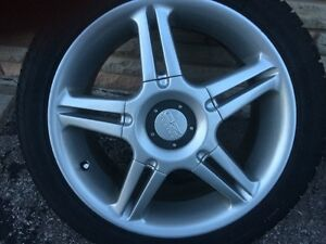 "BMW E36 17"" OZ Racing Rims"