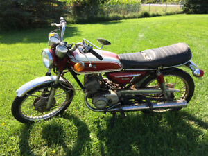 1972 Yamaha AS3 Racer for Parts or Rebuild (COMPLETE BIKE)