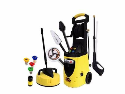 Black FX 3800PSI electric Pressure Washer with Floor Cleaner Fairfield East Fairfield Area Preview