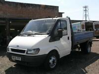 2006 FORD TRANSIT 2.4 TD CHASSIS CAB DROPSIDE PICK UP TRUCK