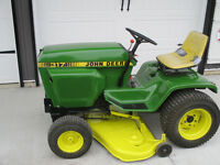 John Deere Lawn Mower and snow thrower