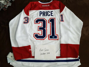 Autographed Jerseys (Price, Eichel, MacKinnon, Staal, Pierce)