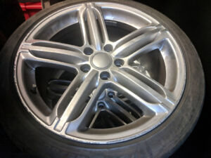 Summer Tires and mags set 18in for VW Passat